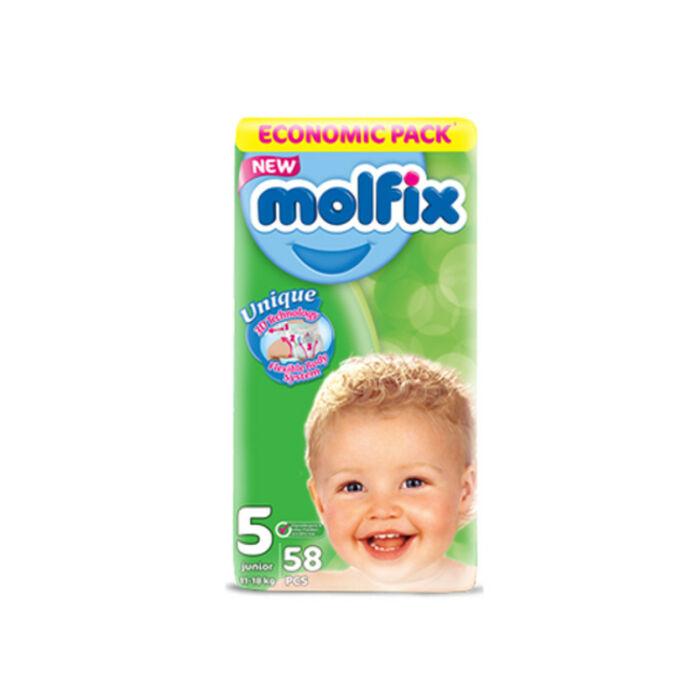 Molfix pelenka Giant (5-ös) 11 - 18 kg