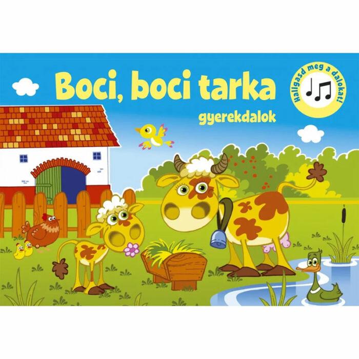 Szalay könyvek Kartonkönyv Mondókáskönyv - Boci, boci tarka