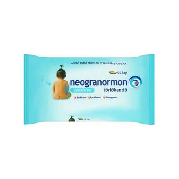 Neogranormon Popsitörlő illatmentes sensitive