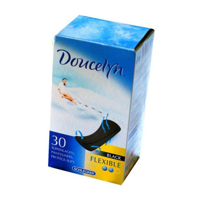 Doucelyn Tisztasági betét Flexibilis, fekete (méret: normál)