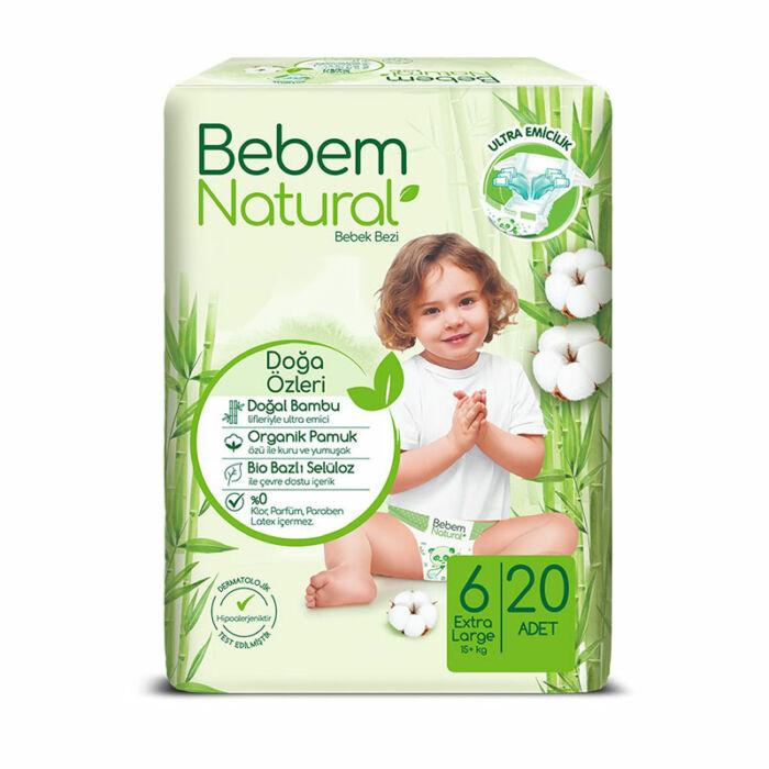 Bebem Natural pelenka (6-os) 15+ kg
