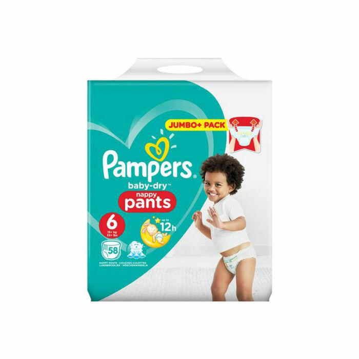 Pampers Pants bugyipelenka Baby-Dry Nappy Pants (6-os) 16+ kg