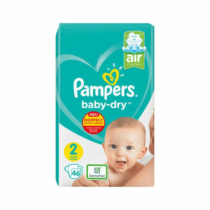 Pampers Baby-Dry pelenka (2-es) 4 - 8 kg