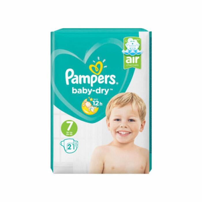 Pampers Baby-Dry pelenka (7-es) 15+ kg