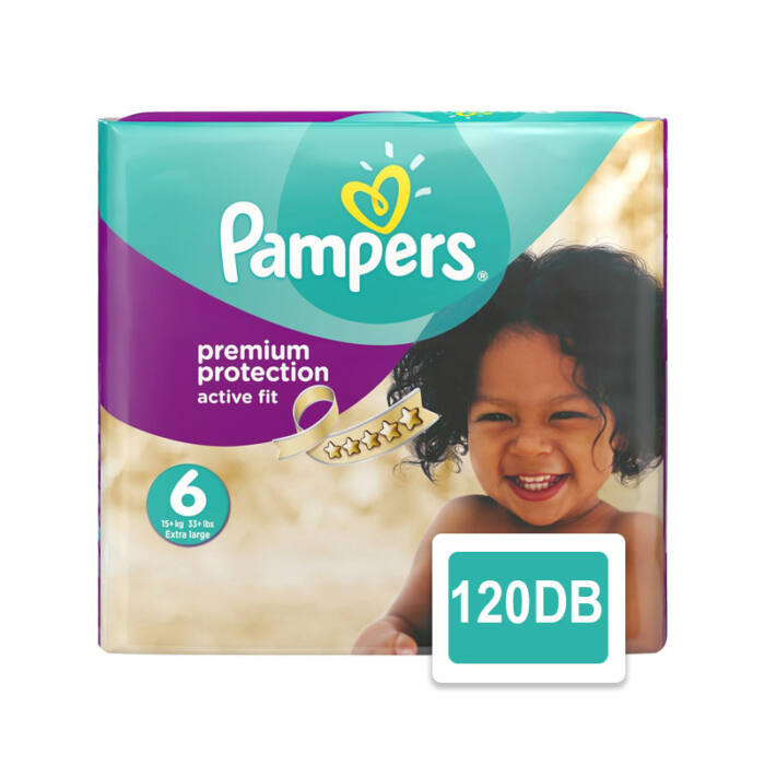 Pampers Premium Protection pelenka Active Fit (6-os) 15+ kg
