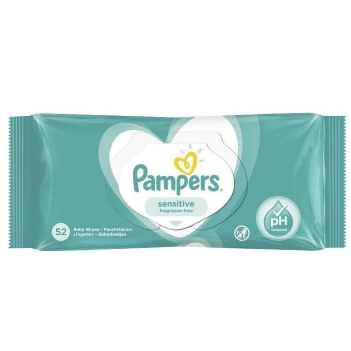 Pampers Popsitörlő megújult illatmentes sensitive