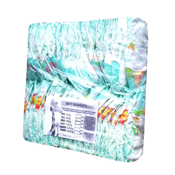 Hafu pelenka (3-as) 4 - 9 kg