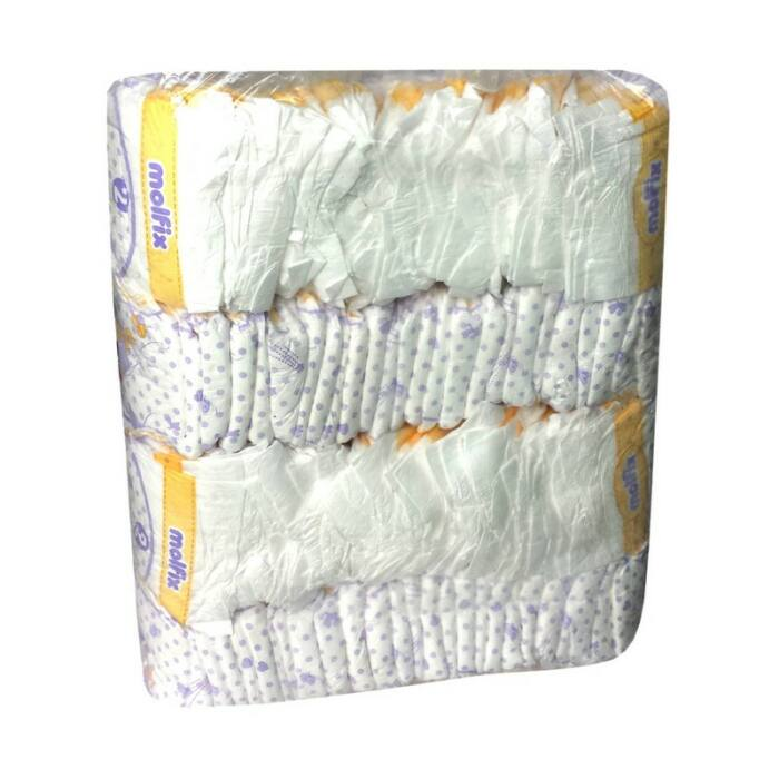 Hafu pelenka Molfix mintával (2-es) 3 - 6 kg