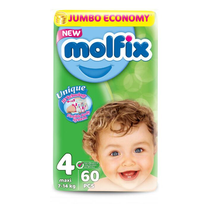 Molfix pelenka Jumbo (4-es) 7 - 14 kg