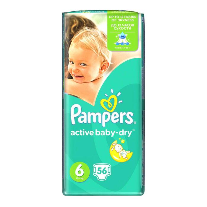 Pampers Active Baby pelenka GiantPack (6-os) 15 - 30 kg