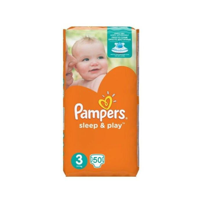 Pampers Sleep&Play pelenka Rövid szav. idő! (3-as) 4 - 9 kg