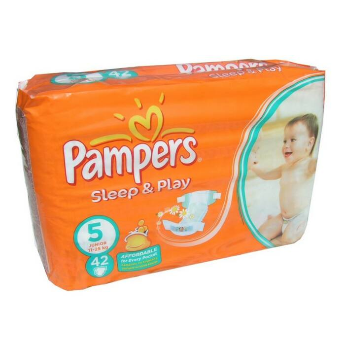 Pampers Sleep&Play pelenka (5-ös) 11 - 18 kg