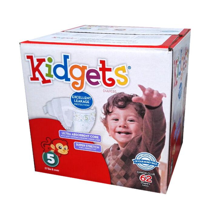 USA prémium pelenka Kidgets (5-ös) 12 - 25 kg