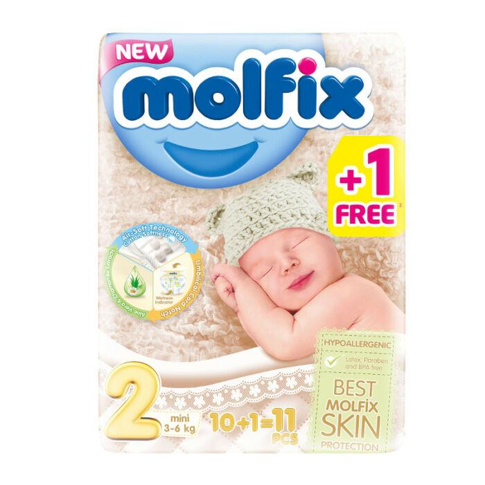 Molfix pelenka Próbacsomag (2-es) 3 - 6 kg