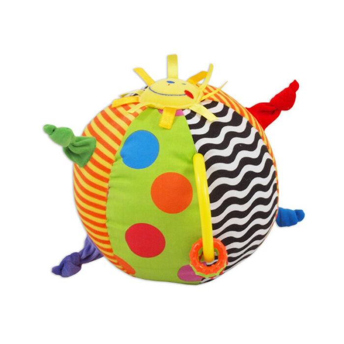Baby Mix Tanuló játék Csörgő labda tükörrel