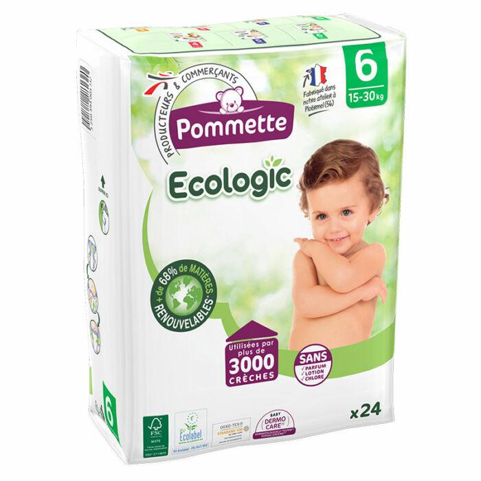 Pommette ökopelenka Ecologic, Csomagolás sérült! (6-os) 15 - 30 kg