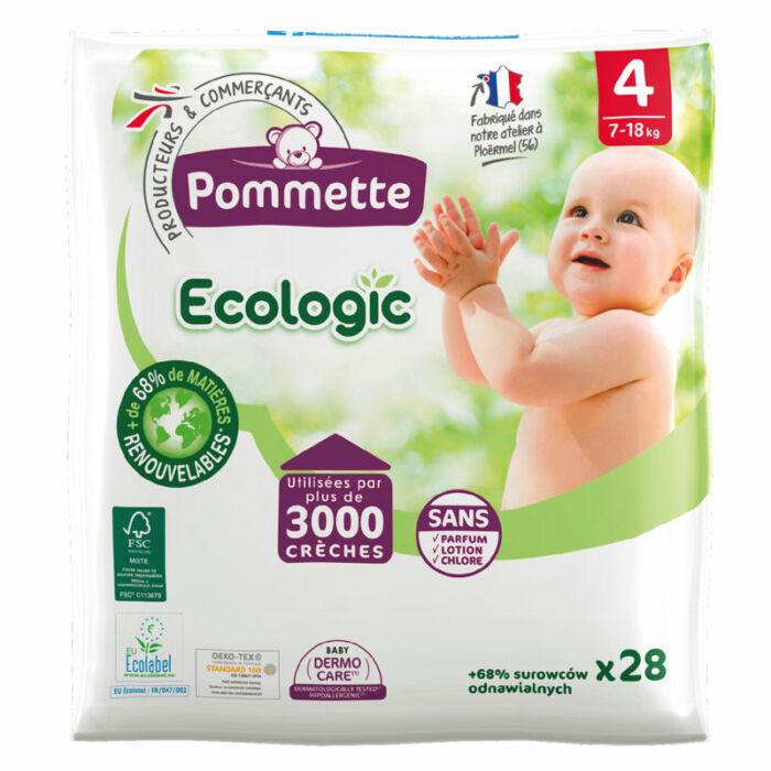 Pommette ökopelenka Ecologic, Csomagolás sérült! (4-es) 7 - 18 kg