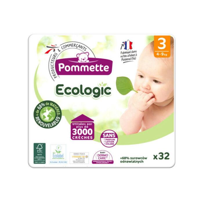 Pommette pelenka Ecologic (3-as) 4 - 9 kg