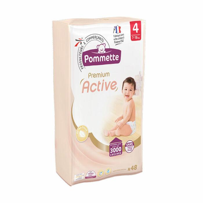 Pommette Premium Active pelenka Csomagolás sérült! (4-es) 7 - 18 kg