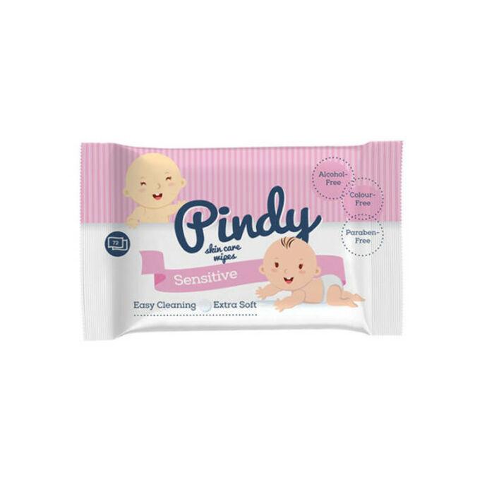 Pindy Popsitörlő Skin Care, Csomagolás sérült! sensitve