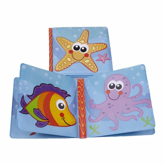 BabyBruin Fürdőskönyv Tengeri állatok