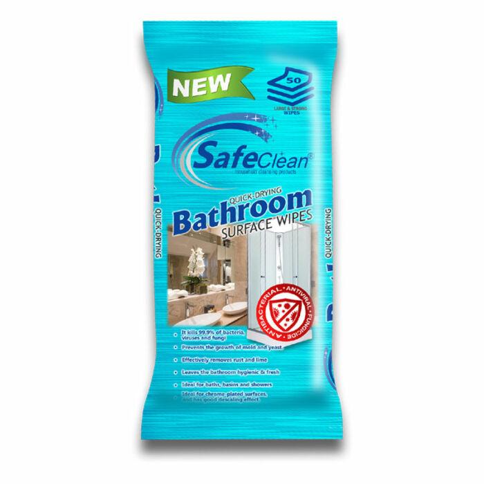 Safe Clean Tisztítókendő Fürdőszobai