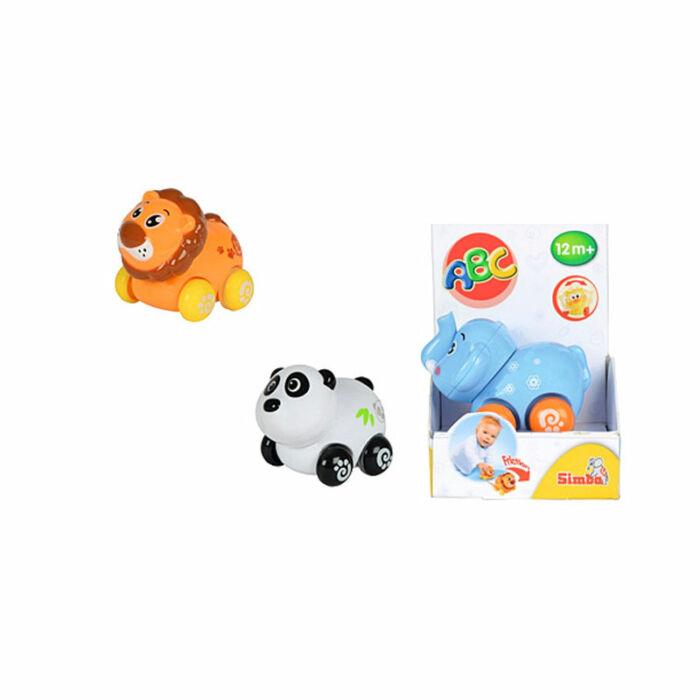 Simba Tanuló játék Vidám állati járművek