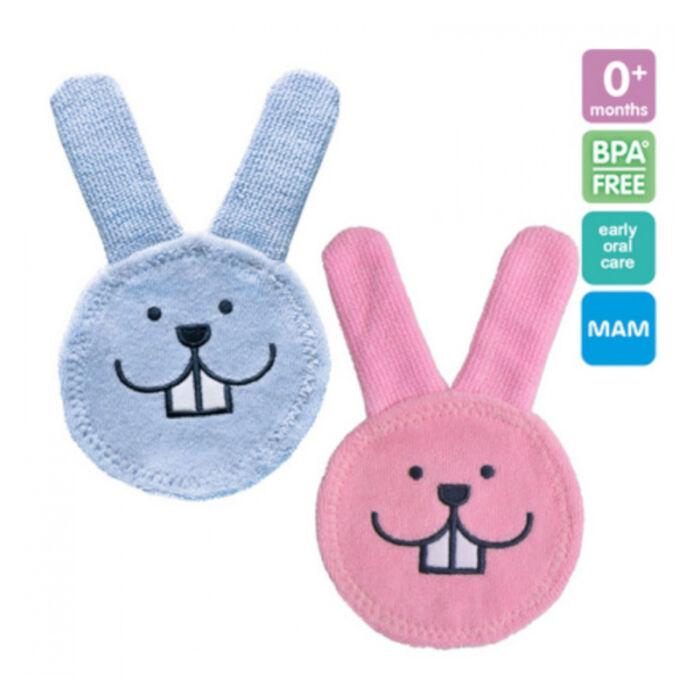Mam Oral care Rabbit Fogápoló készlet Szájápoló nyuszi