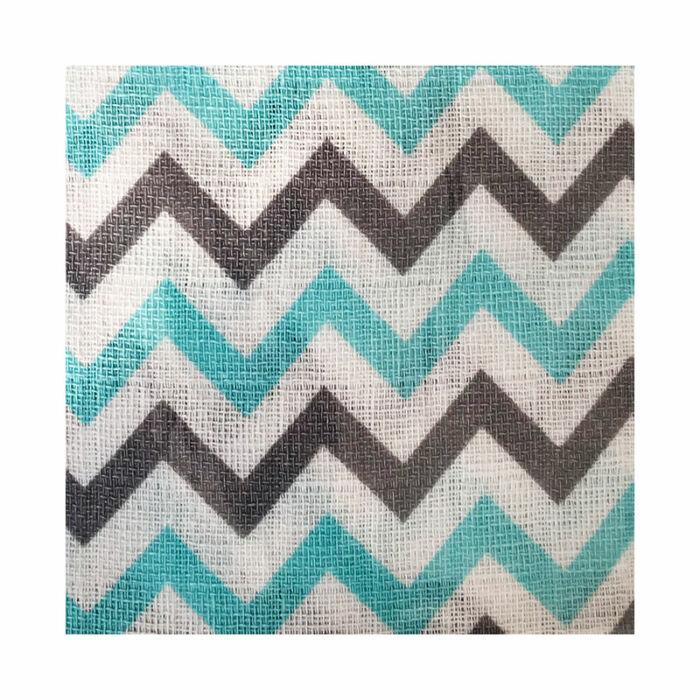 BabyBruin Textilpelenka Cikk-cakk mintás mintás 70 * 70 cm
