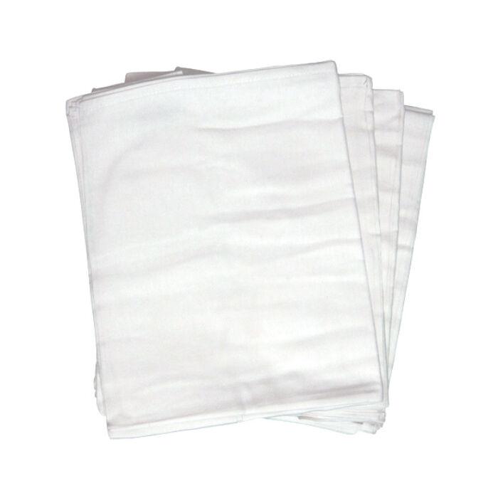 Babakirály Textilpelenka Tetra típusú, Prémium fehér 70 * 80 cm