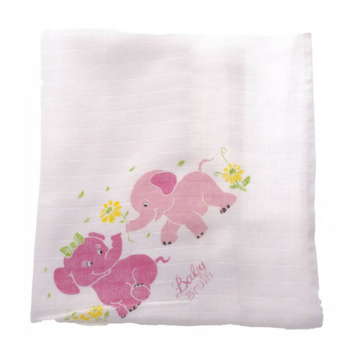 BabyBruin Textilpelenka Nagy mintás mintás 70 * 70 cm