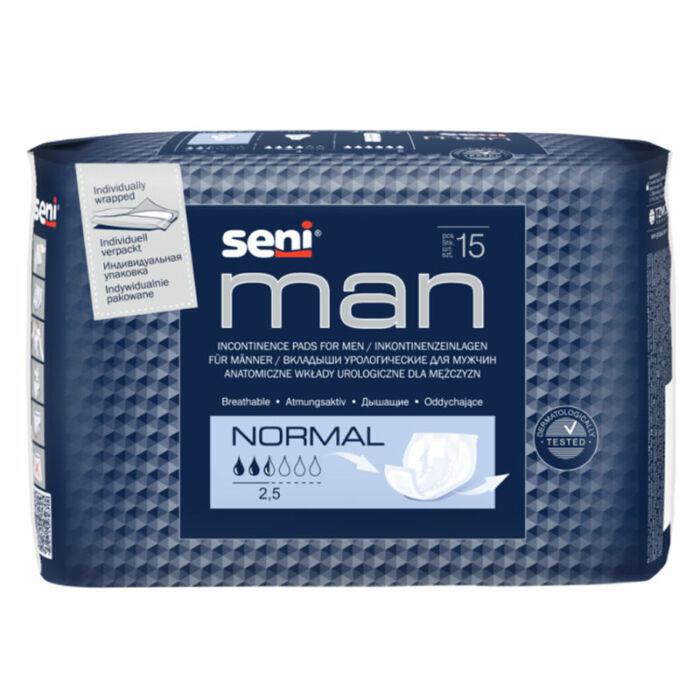 Seni Man Inkontinencia betét Férfiaknak (méret: normál)
