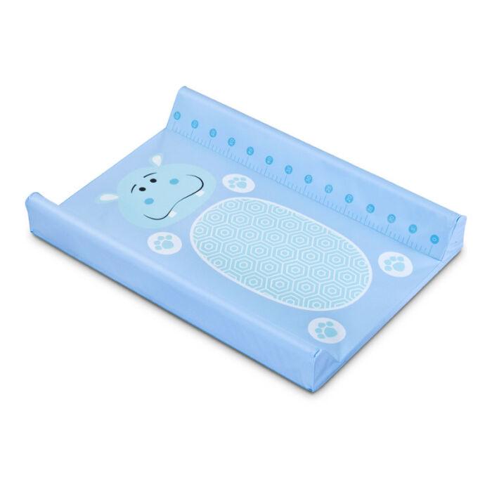 Sensillo Pelenkázó lap Puha, ékes, kék víziló 50 * 70 cm