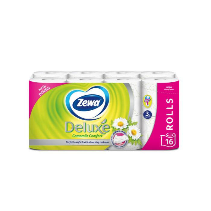 Zewa WC papír Deluxe, Kamillás 150 lapos